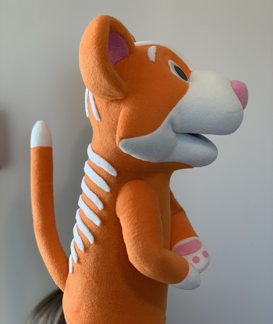 Custom Cat Puppet by Kristofer Sommerfeld