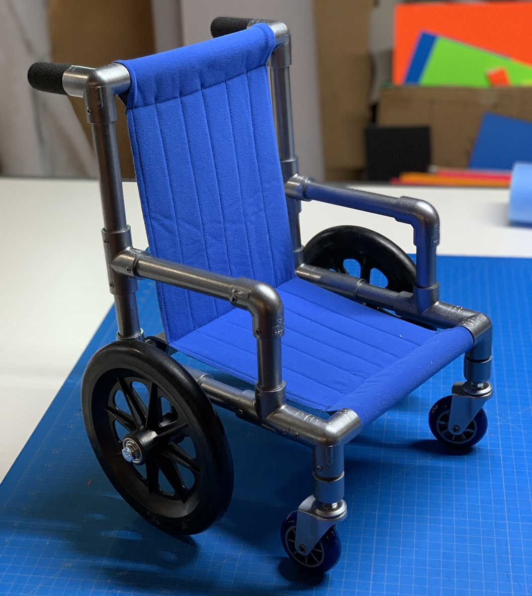 Puppet Wheelchair by Kristofer Sommerfeld