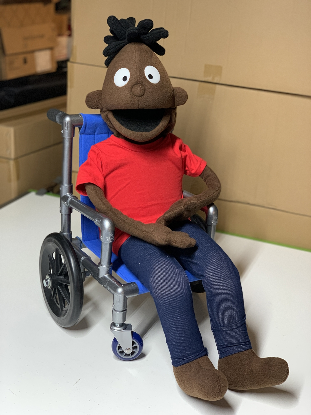 Custom Puppet Wheelchair by Kristofer Sommerfeld