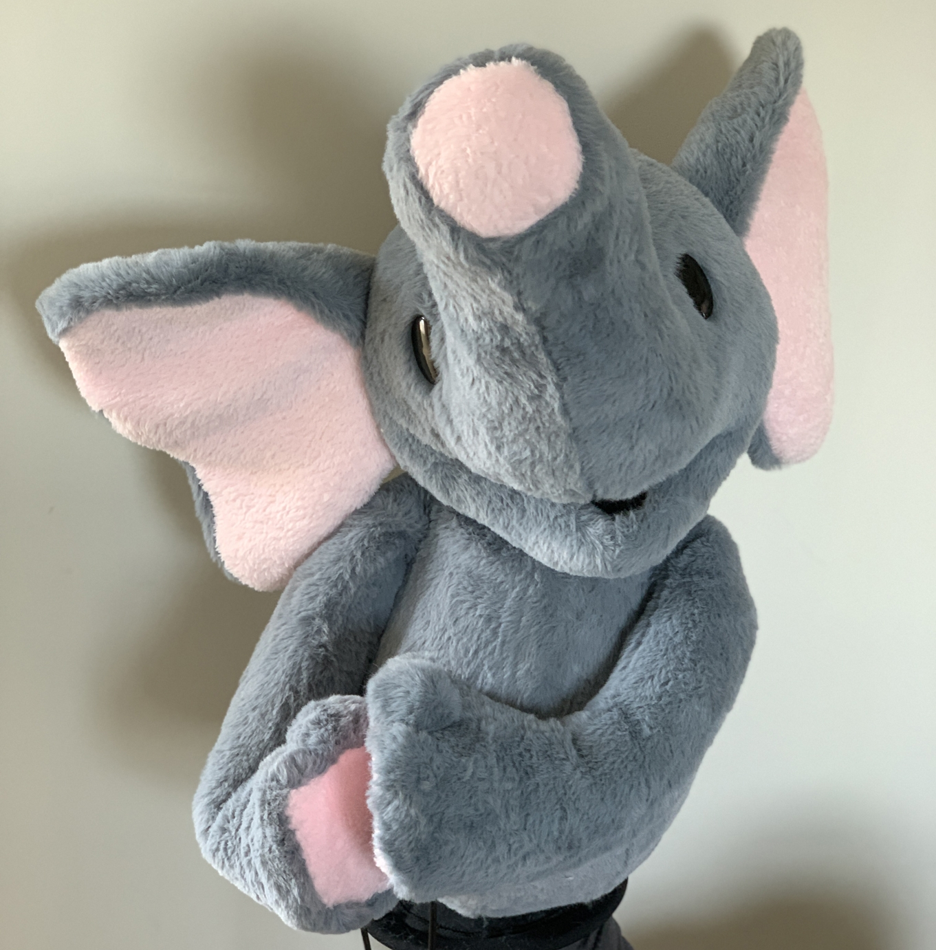 Custom Elephant Puppet by Kristofer Sommerfeld